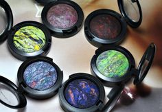 I am obsessed with MAC mineralized eye shadow