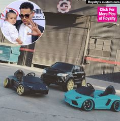 Chris Brown & Royalty: Her Custom Power Wheels Are Finished — Pic