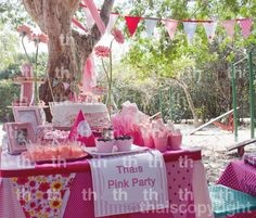 My birthday pink party. =)