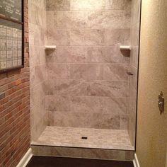 Finished The Lutz, Florida Master Bath Stand Up Shower. Laticrete HydroBanu2026