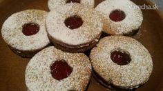Pohánkové linecké s makom - recept Gluten Free Desserts, Doughnut, Ale, Food, Basket, Ale Beer, Essen, Meals, Yemek