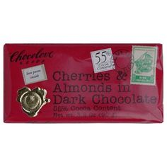 Chocolove Cherries  Almonds in Dark 55 Cocoa ** To view further for this item, visit the image link.