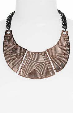 Spring Street Design Group Carved Collar Necklace via @Nordstrom \\ Bold and beautiful