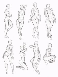 Copy's and Studies: Kate-FoX fem body's 4 by WonderingMind23.deviantart.com on…