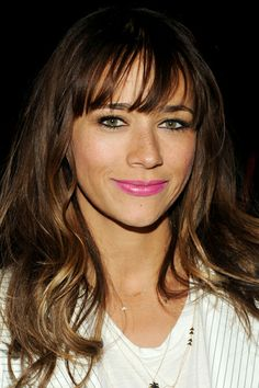 Never know what board to pin Rashida Jones to.  Hair/Makeup/Fashion..always solid