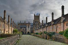 Vicars Close- Wells, England