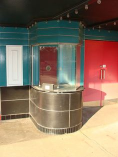 Ritz Theatre Ticket Booth by bamaboy1941, via Flickr