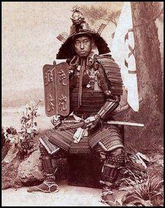 Fotos antigas de verdadeiros samurais