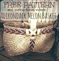 FREE pattern for September, Jill Choate, www.jchoatebasketry.com