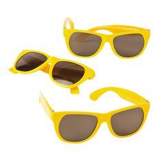 76849d7ca93 The Sun, $9.99/dozen Kid's+Yellow+Nomad+Sunglasses+-+OrientalTrading