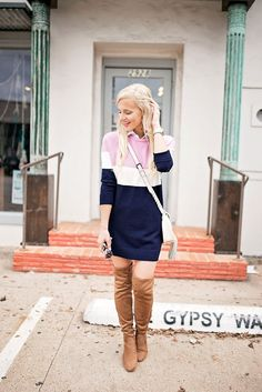 Goodnight Macaroon Flash Sale Sweater Dress Outfit