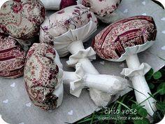 mushrooms Mushroom Crafts, Garden Mushrooms, Make Do And Mend, Zombie Party, Mushroom Fungi, Plants Vs Zombies, Thanksgiving Crafts, Pin Cushions, Creative Inspiration