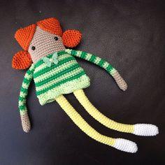 Long Legged Dolly Crochet Pattern