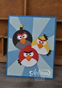 Angry Birds Birthday ~ Sleepless Stamper