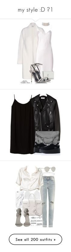 """""""my style :D №1"""" by reckless-nat ❤ liked on Polyvore featuring Acne Studios, Yves Saint Laurent, Tom Ford, Marina J., Azalea, STELLA McCARTNEY, Karl Lagerfeld, Brandy Melville, Forever 21 and Boohoo"""