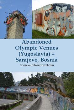 Abandoned Olympic Venues around Sarajevo