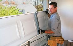 Garage Door Repair - What you need to know about replacing a damaged panel section via Clopay garage doors blog. www.clopaydoor.com