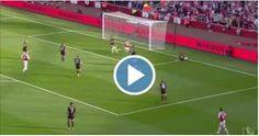 VIDEO: Sensacional gol de taquito de Alexis Sánchez ante el Manchester United - Arsenal era mejor que el Manchester United desde el inicio y con ello también Alexis Sánchez comenzaba a convertirse en la gran figura de los gunner...