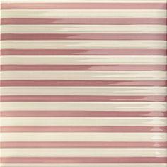 #Mainzu #Lucciola Stripe Pink 20x20 cm | #Feinsteinzeug #Dekore #20x20 | im Angebot auf #bad39.de 42 Euro/qm | #Fliesen #Keramik #Boden #Badezimmer #Küche #Outdoor