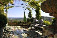 Jardin de la Carmejane, Menerbes, Provence