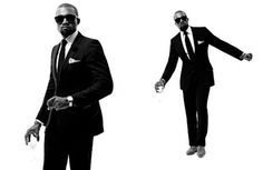 Love him or hate him. He has made a few fahsion faux pas' but Kanye slays when it comes to his personal style especially when he donnes a tux #Men #Fashion