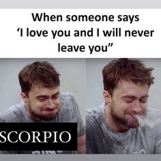 Funny Scorpio Quotes, Scorpio Funny, Scorpio Zodiac Facts, Scorpio Girl, Aries Love, Zodiac Memes, Zodiac Quotes, Scorpio Humor, Good For You Meme