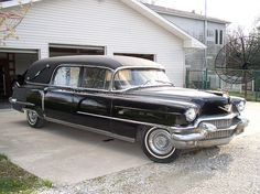 1956 S Cadillac Hearse by pcsmoroute66, via Flickr