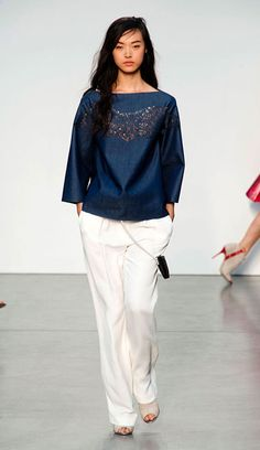 The Best Looks from New York Fashion Week: Spring 2014 - Thakoon