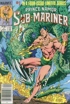Comic Book Namor Sub-Mariner Marvel 1984 Marvel Comics Superheroes, Marvel Comic Books, Las Vegas, Sub Mariner, Best Comic Books, Vintage Comics, Comic Book Covers, Dark Horse, Retro