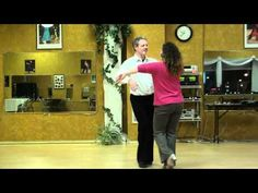 Rumba Turning Wrap. American Social Dancing.
