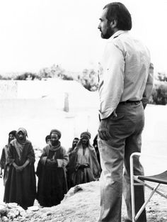 Martin Scorsese on the set of The Last Temptation of Christ