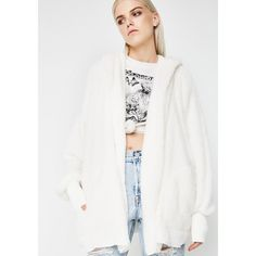Ivory Hooded Cardigan ($45) ❤ liked on Polyvore featuring tops, cardigans, ivory, ivory cardigan, hooded top, hooded cardigan, white open front cardigan and open front tops