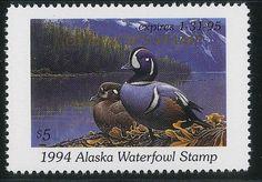 AK10 AK10G  1994 Alaska Governor's Edition State Duck Stamp MNH