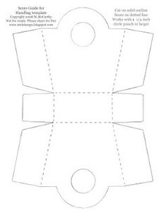 Favor Box template on Pinterest Favor Boxes, Box Templates and Treat ...