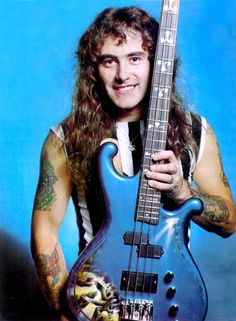 Steve Harris of Iron Maiden Witcher Wallpaper, Run To The Hills, Where Eagles Dare, Metal Health, Adrian Smith, Bruce Dickinson, The New Wave, Rockn Roll, Heavy Metal Bands