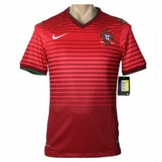Nueva Camiseta del Portugal Primera por Mundo 2014