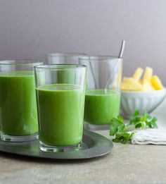 10 Green Smoothies That Will Fool The Whole Family