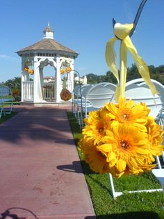 Tips from a florist for decorating a gazebo