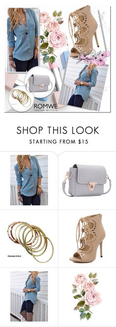 """ROMWE 7"" by danijela-3 ❤ liked on Polyvore featuring Sephora Collection, Karlsson and romwe"