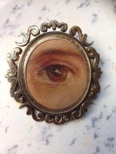 Eye Images, Lovers Eyes, Eye Jewelry, Jewellery, Pearl Brooch, Eye Art, Heart Art, Antique Jewelry, Vintage Antiques