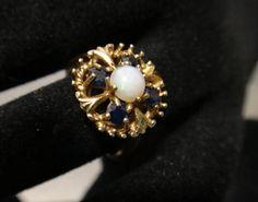 Victorian Style London 9 Carat Gold ladies by GloryBeVintageWares, $193.75