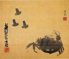 Chimaki by Matsumura Goshun (painting) and Yosa Buson (calligraphy) - Yosa Buson - WikiArt.org