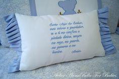Almofada Santo Anjo | Atelier AnnaBella For Babies | Elo7
