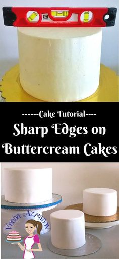 Getting Sharp Edges on Buttercream cakes have become a recent trend and pride of cake decorators even when you don't actually need them. They can be difficult and yet extremely easy if you use the right technique and method which I'm going to show you here in this post.