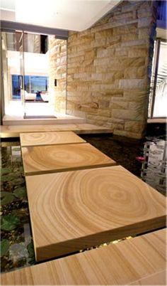 Love this walkover koi  Sandstone - Sandstone of Queensland