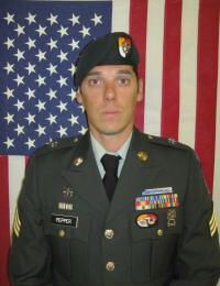 SSGT E-6 Brandon R Pepper --YORK PENNSYLVANIA, US ARMY ELITE GREEN BERET , 3RD SPECIAL FORCES (AIRBORNE) KIA July 21 , 2012 , AGE 31 ,insurgents ambushed his infantry patrol at GHAZNI PROVINCE AFGHANISTAN , this was SSGT Pepper' second deployment in Afghanistan in support of overseas Contingency Operations.+++you are not forgotten +++SOME GAVE ALL