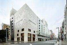 Louis Vuitton Matsuya Ginza Façade Concept | Stanislavov Architects (STARH)