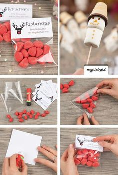 DIY gifts for young and old Christmas: crafts, DIY and .- DIY gifts for young and old Christmas: DIY and decoration Diy Gifts For Christmas, Old Christmas, Little Christmas, Navidad Simple, Navidad Diy, Diy Cadeau Noel, Simple Gifts, Craft Tutorials, Diy And Crafts