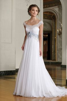 Simple Wedding Dress would be pretty in ivory or champagne