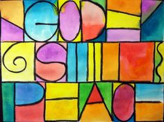 Paul Klee-inspired art lesson